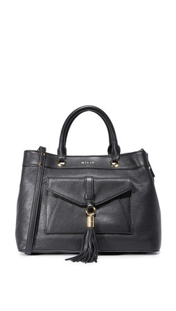 Milly Astor Tote Bag - Black