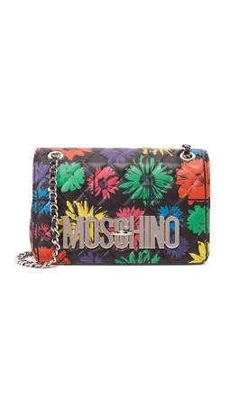 Moschino Moschino Shoulder Bag - Black Multi