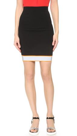 Moschino Pencil Skirt - Black