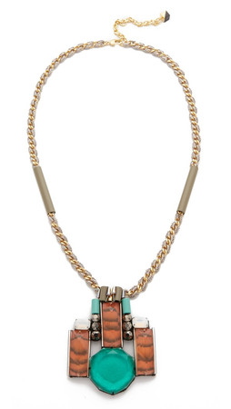 Nocturne Daniel Necklace - Jade Multi