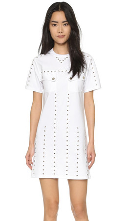 Opening Ceremony Eyelet Dress - White