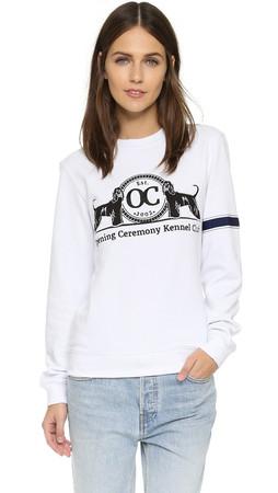 Opening Ceremony Oc Kennel Club Sweatshirt - White Multi