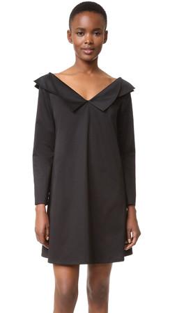 Opening Ceremony Off Shoulder Dress - Black