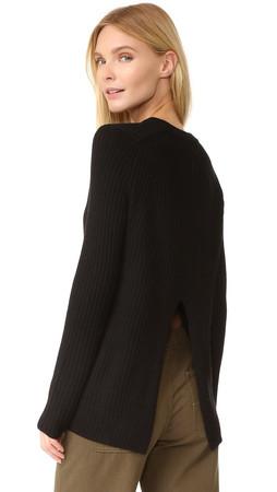Rag & Bone/Jean Carly Sweater - Black