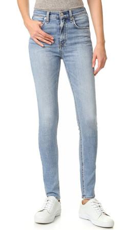 Rag & Bone/Jean Dive Skinny Jeans - Freemont