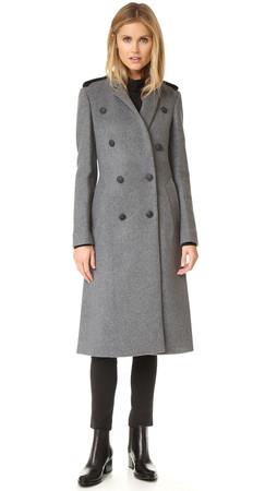 Rag & Bone Ashton Tailored Coat - Grey Heather