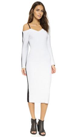 Rag & Bone Felice Dress - White/Black
