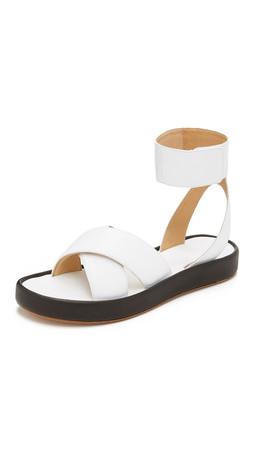 Rag & Bone Venus Sandals - White