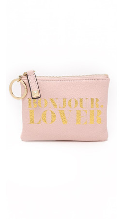 Rebecca Minkoff Bonjour Lover Betty Pouch - Baby Pink