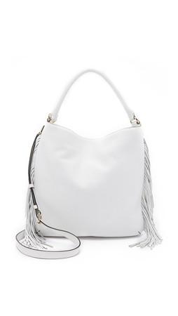 Rebecca Minkoff Clark Hobo Bag - White