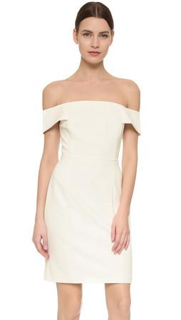 Rebecca Minkoff Diana Dress - Chalk