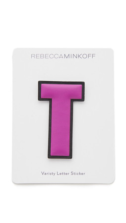 Rebecca Minkoff Faux Letter Sticker - T