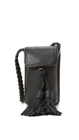 Rebecca Minkoff Isobel Phone Cross Body Bag - Black