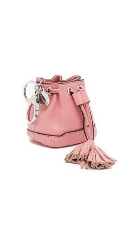Rebecca Minkoff Lexi Bucket Coin Purse - Guava