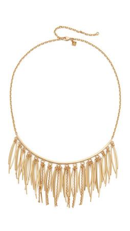 Rebecca Minkoff Needle Statement Collar Necklace - Gold