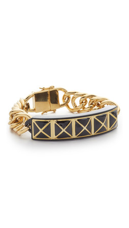 Rebecca Minkoff Smartphone Notification Bracelet - Gold/Black
