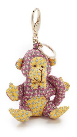 Salvatore Ferragamo Monkey Bag Charm - Rosa