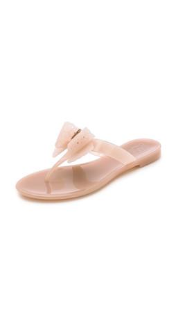 Salvatore Ferragamo Pandy Jelly Thong Sandals - Macaron