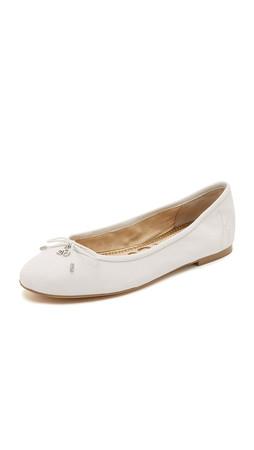 Sam Edelman Felicia Ballet Flats - Snow White