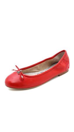 Sam Edelman Felicia Ballet Flats - Vreeland Red