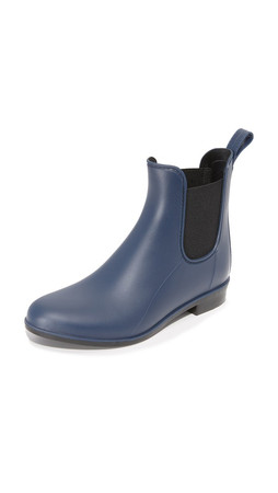 Sam Edelman Tinsley Chelsea Rain Booties - Space Blue