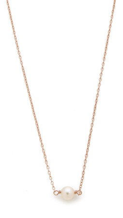 Samantha Wills Jasmine & Fleetwood Petite Necklace - Rose Gold/Pearl