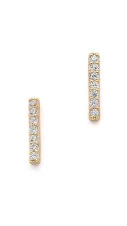 Samantha Wills Moonlight Mile Earrings - Clear/Gold