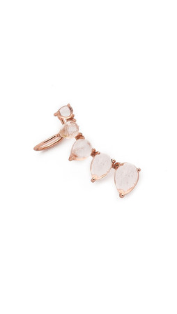 Samantha Wills Talulah Fox Right Cuff Earring - Rose Gold/Clear