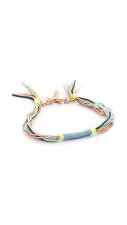Shashi Glaiza Bracelet - Neon Green