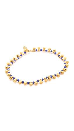 Shashi Lilu Ball Bracelet - Blue