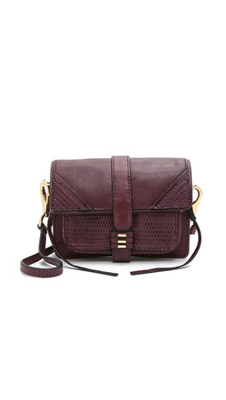 She + Lo Silver Lining Camera Bag - Bordeaux
