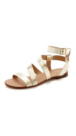Splendid Caracas Sandals - Gold