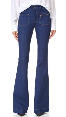 Stella Mccartney '70S Flare Jeans - True Blue