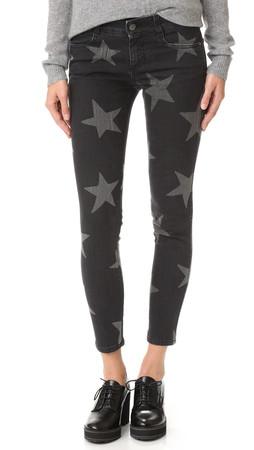 Stella Mccartney Vintage Black Star Trousers - Vintage Black