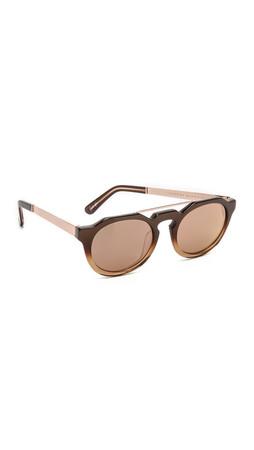 Sunday Somewhere Heeyeh Sunglasses - Brown/Rose Gold