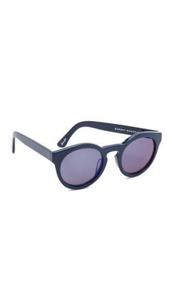 Sunday Somewhere Kiteys Sunglasses - Navy/Grey