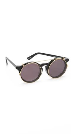 Sunday Somewhere Matahari Sunglasses - Black/Black
