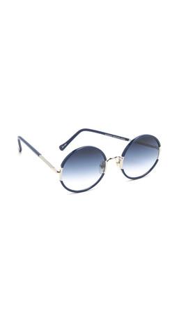 Sunday Somewhere Yetti Sunglasses - Navy/Blue