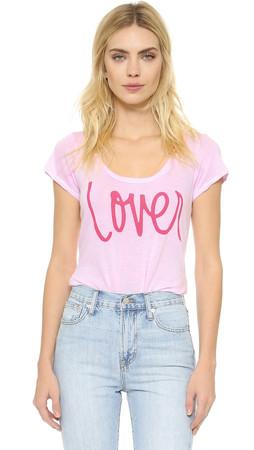 Sundry Lover Tee - Pink