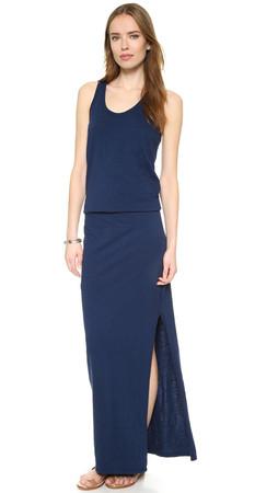 Sundry Maxi Dress - Deep Sea
