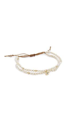 Tai Evil Eye Bracelet - Pearl