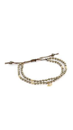 Tai Evil Eye Bracelet - Pyrite