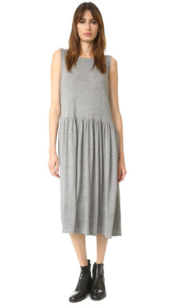 The Great. The Day Dress - Heather Grey