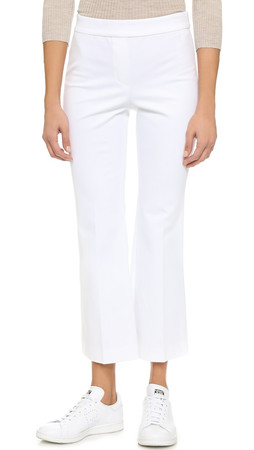 Theory Rabeanie Trousers - White