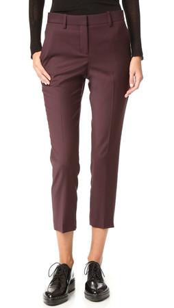 Theory Treeca 2 Pants - Garnet