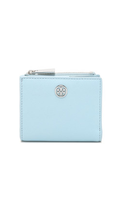 Tory Burch Robinson Mini Wallet - Iceberg