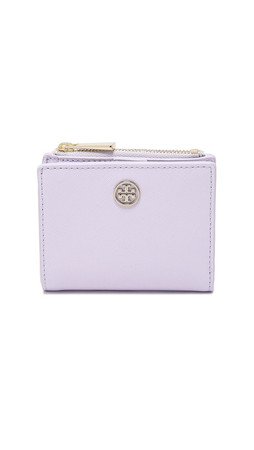 Tory Burch Robinson Mini Wallet - Pale Orchid