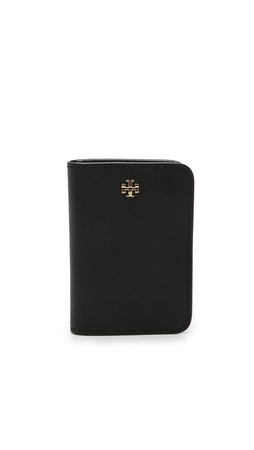 Tory Burch York Transit Pass Holder - Black