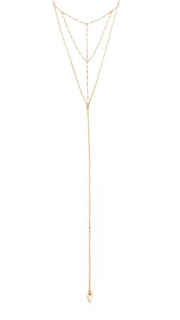 Vanessa Mooney The Bonita Necklace - Gold