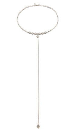 Vanessa Mooney The Elysee Necklace - Silver
